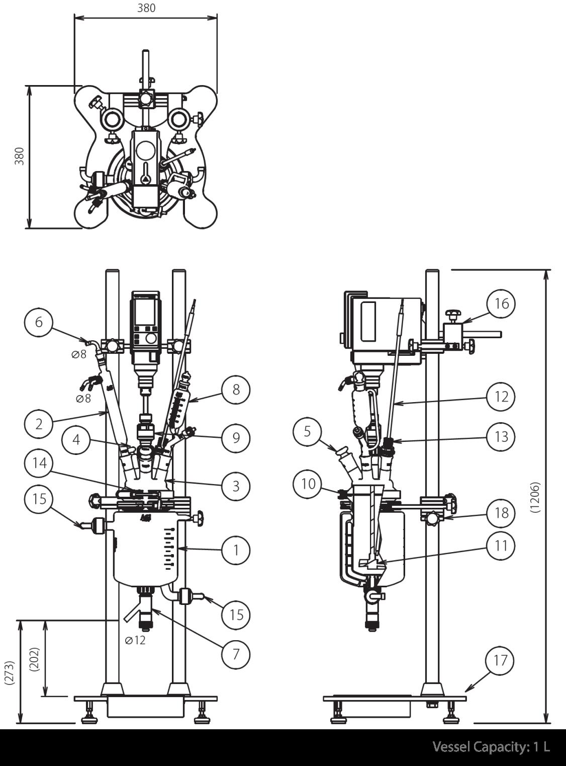 Benchtop Reactor Specification