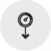 Minimal Pressure Drop Icon