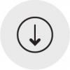 Reduce Costs Space and Time Icon