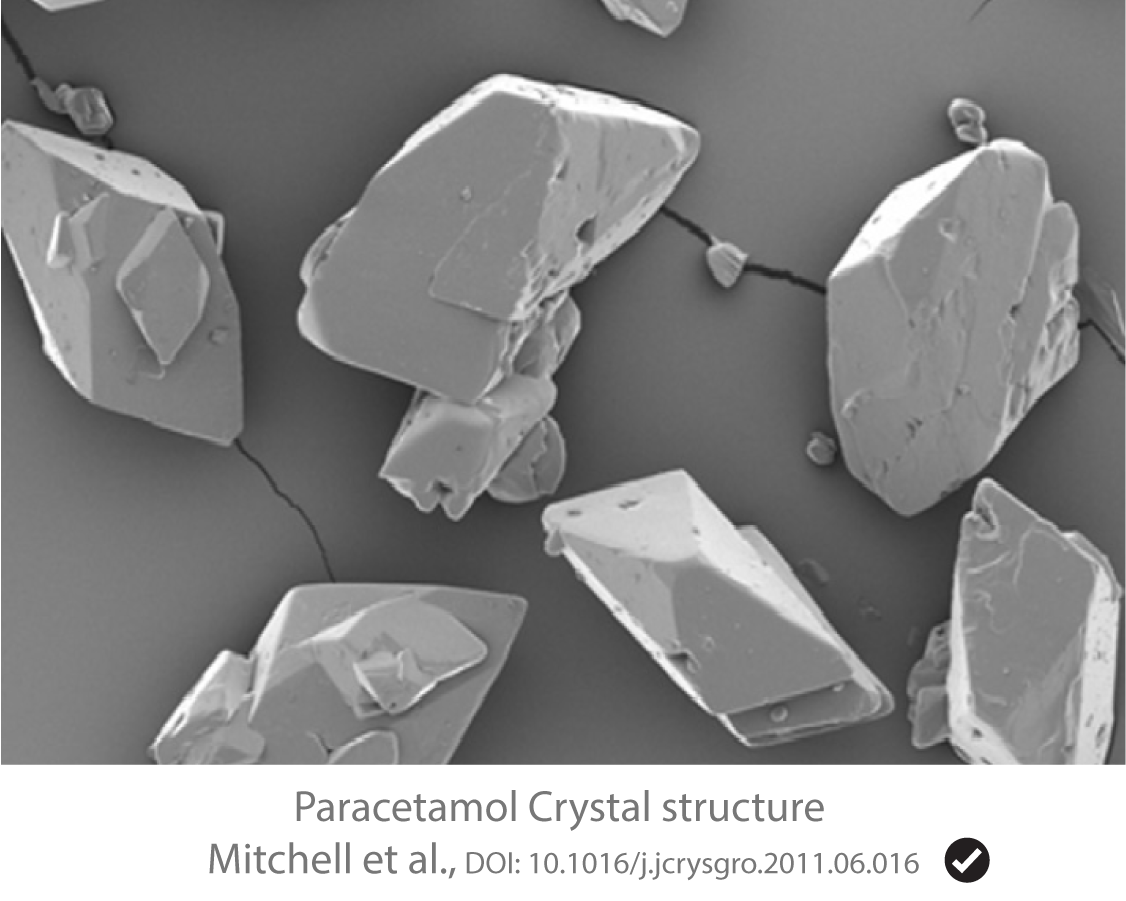 Crystal structure from literature