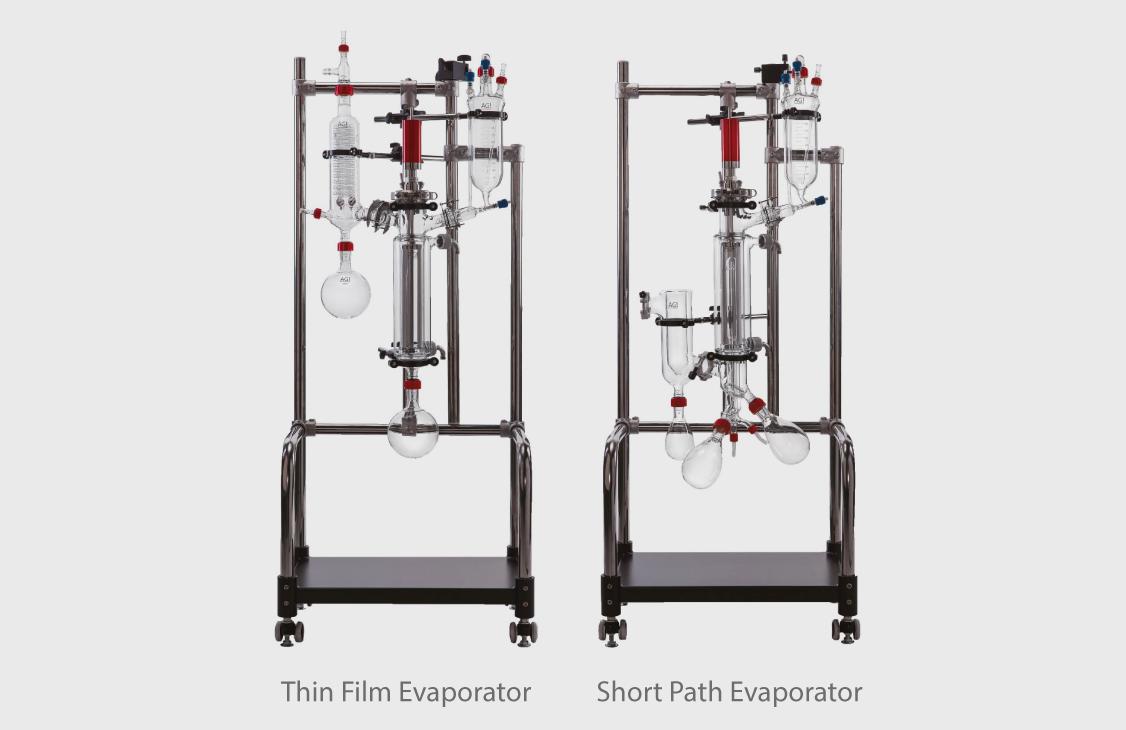 Thin film and Short Path evaporator